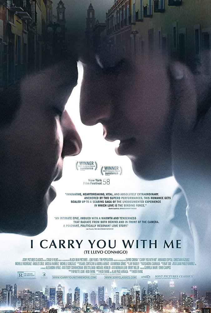 I Carry You with Me kapak