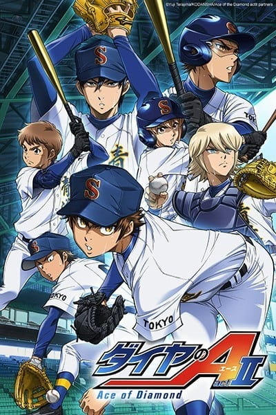 Ace of Diamond: Act II kapak