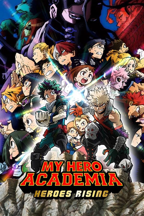 My Hero Academia: Heroes Rising kapak