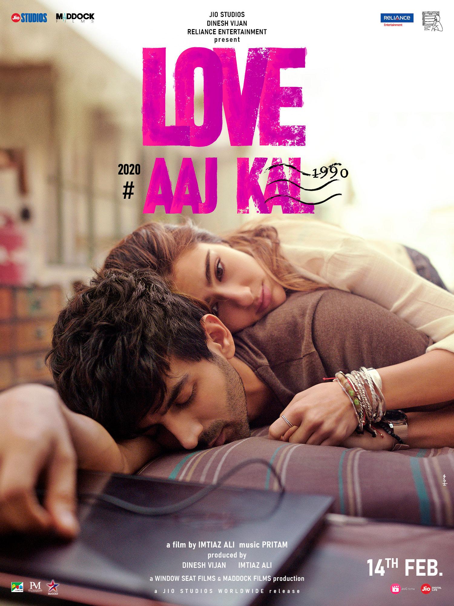 Love Aaj Kal kapak