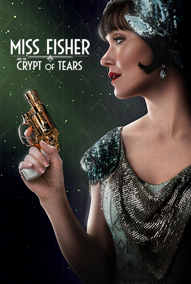 Miss Fisher & the Crypt of Tears kapak