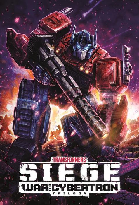 Transformers: War for Cybertron Trilogy kapak