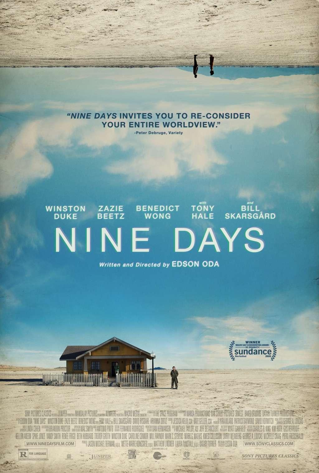 Nine Days kapak