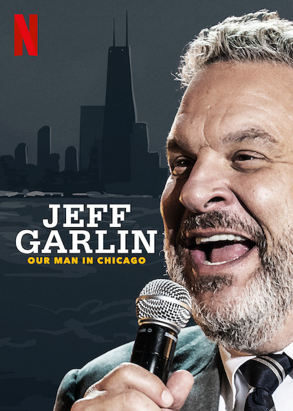 Jeff Garlin: Our Man in Chicago kapak