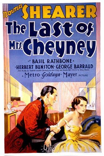 The Last of Mrs. Cheyney kapak