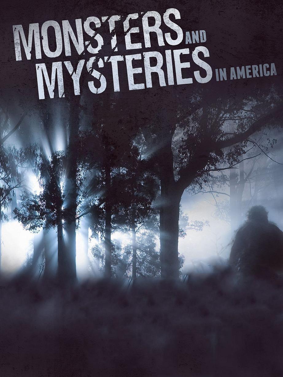 Monsters and Mysteries in America kapak