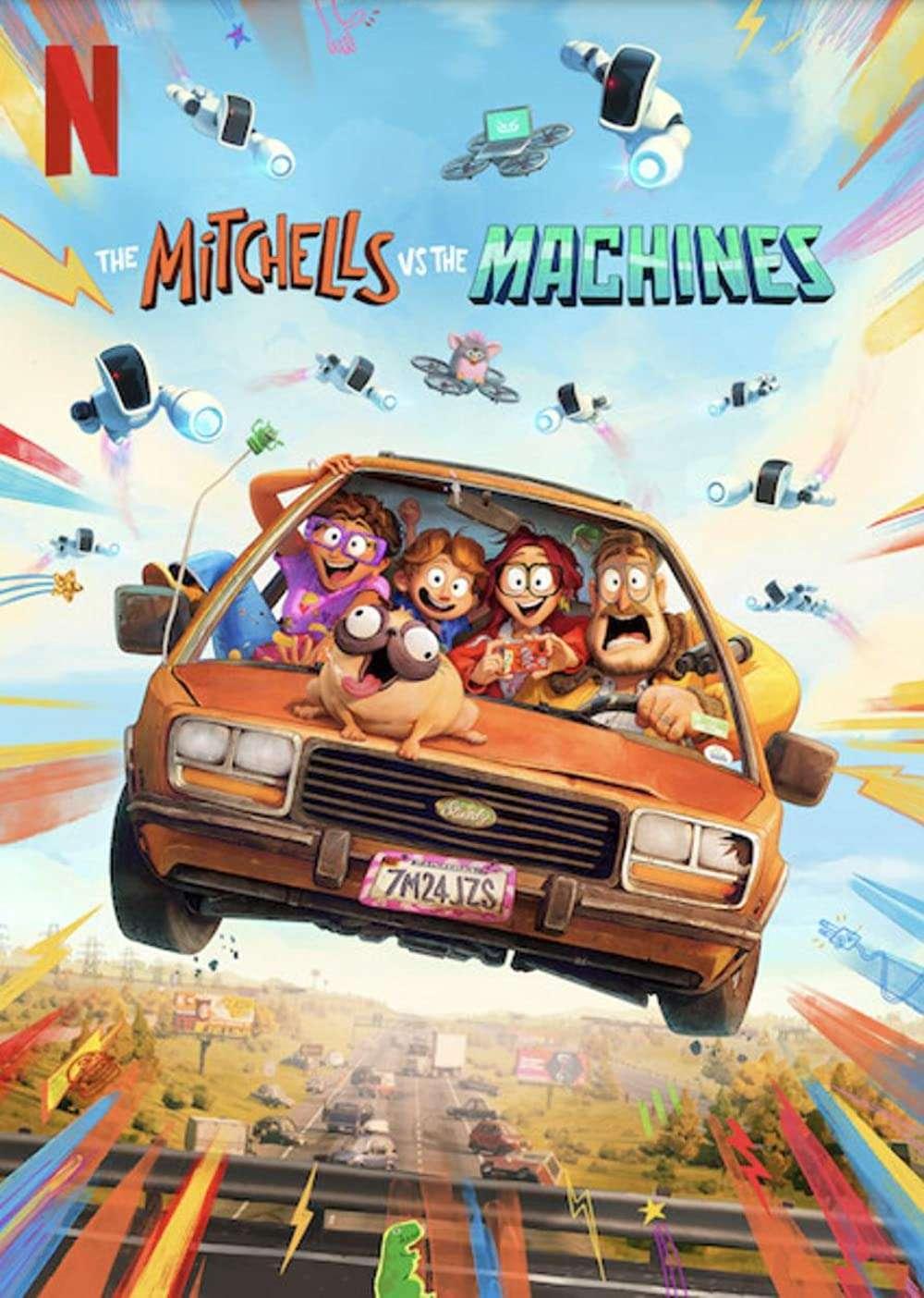 The Mitchells vs the Machines kapak
