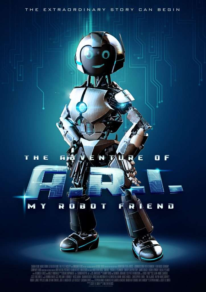 The Adventure of A.R.I.: My Robot Friend kapak