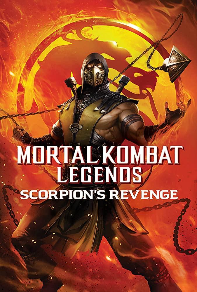 Mortal Kombat Legends: Scorpions Revenge kapak