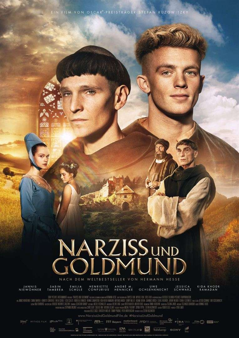 Narcissus and Goldmund kapak