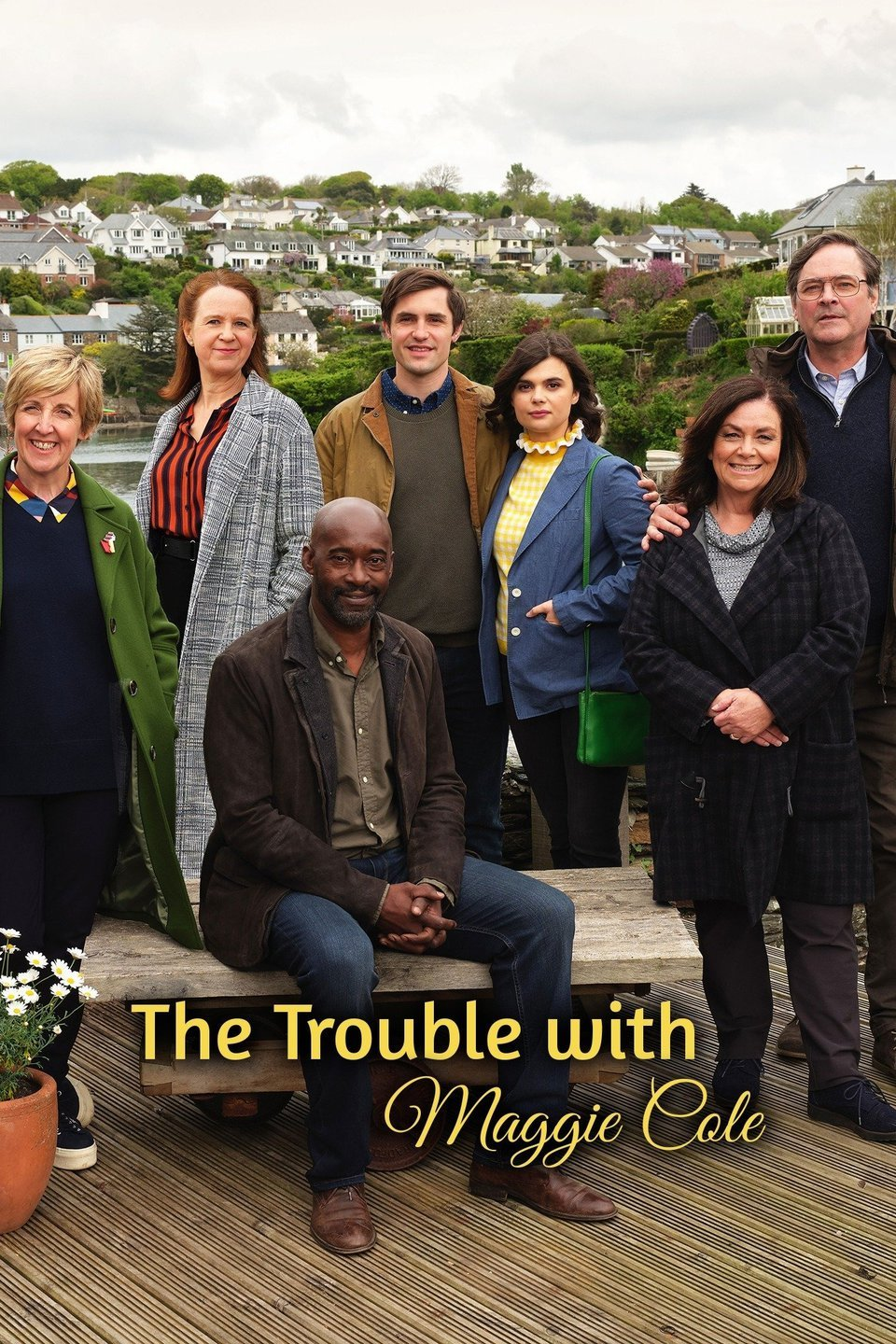 The Trouble with Maggie Cole kapak