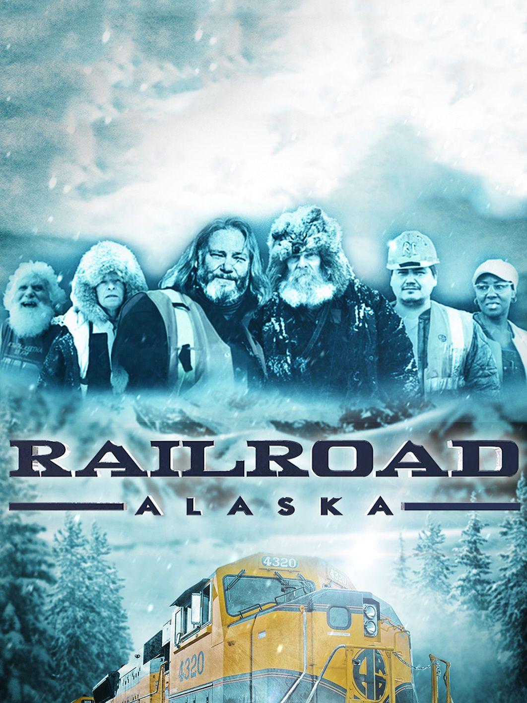Railroad Alaska kapak