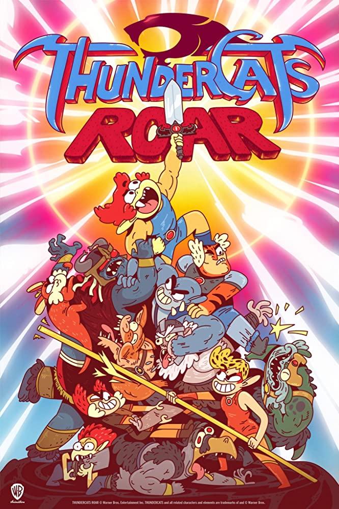 ThunderCats Roar kapak