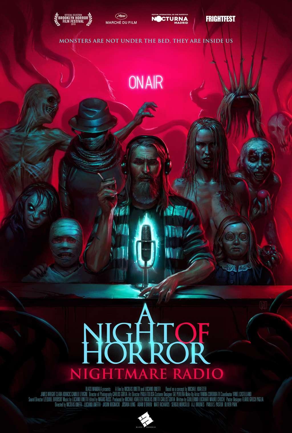 A Night of Horror: Nightmare Radio kapak