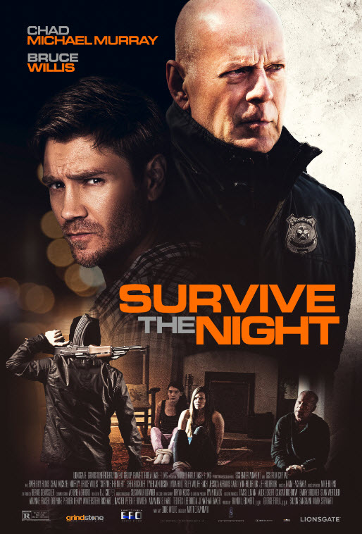 Survive the Night kapak