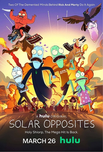 Solar Opposites kapak