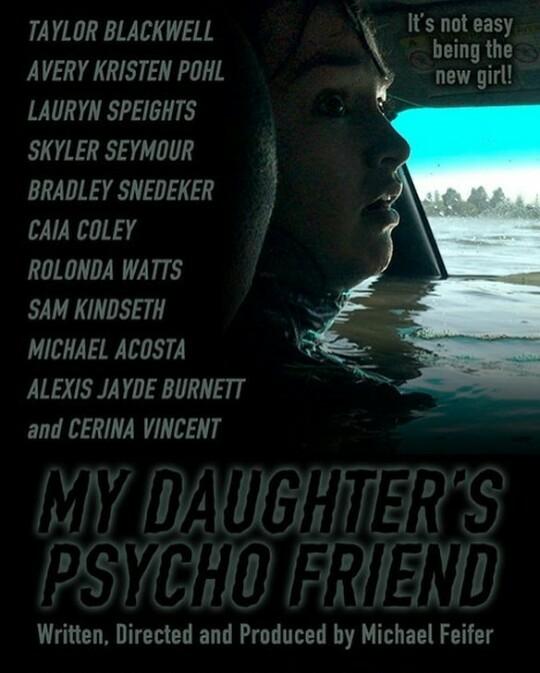 My Daughter's Psycho Friend kapak