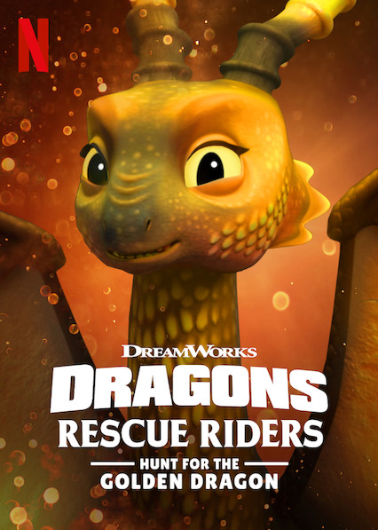 Dragons: Rescue Riders: Hunt for the Golden Dragon kapak