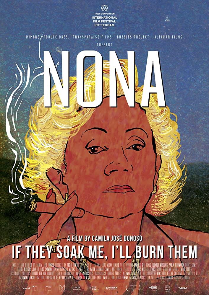 Nona: If They Soak Me, I'll Burn Them kapak