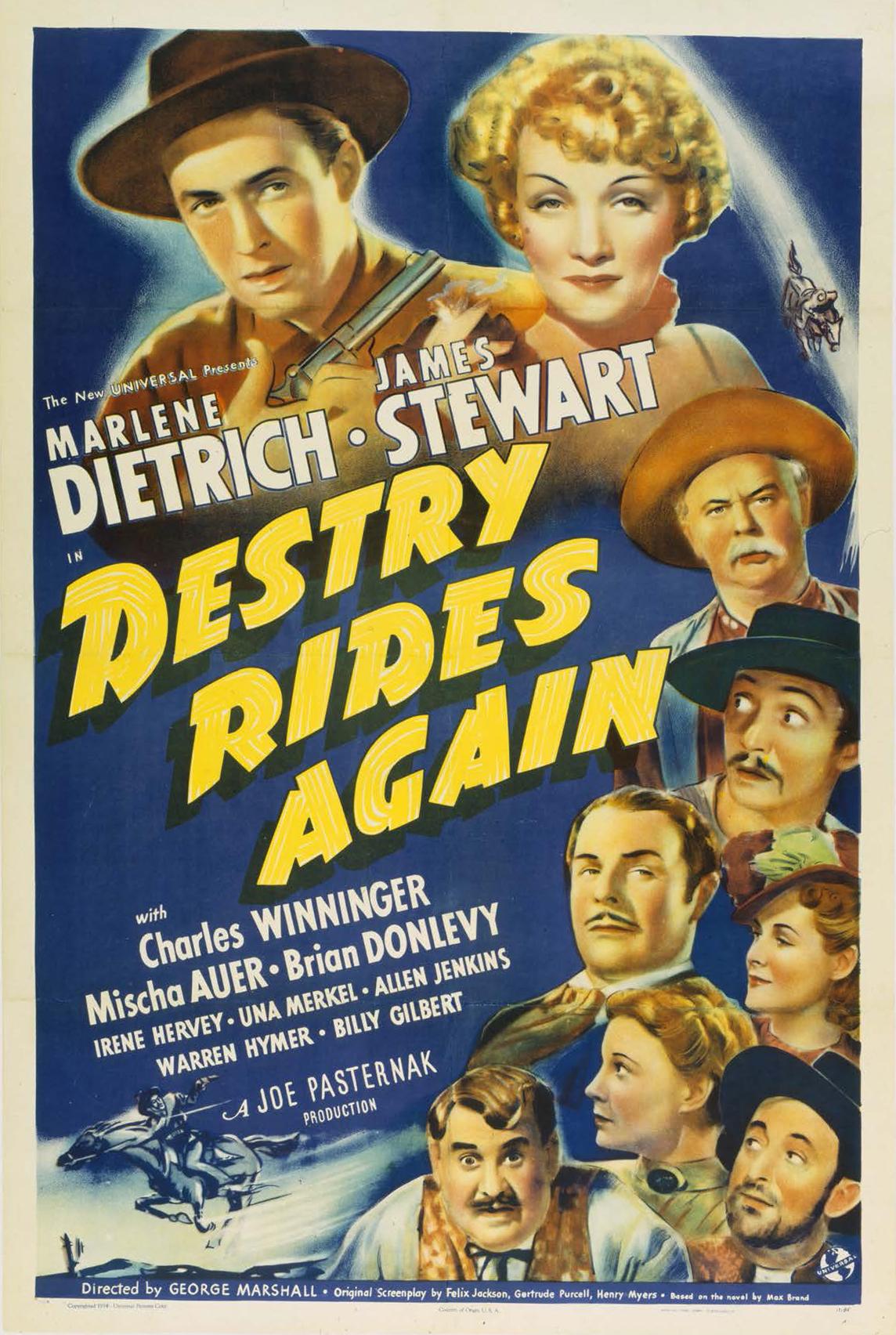 Destry Rides Again kapak