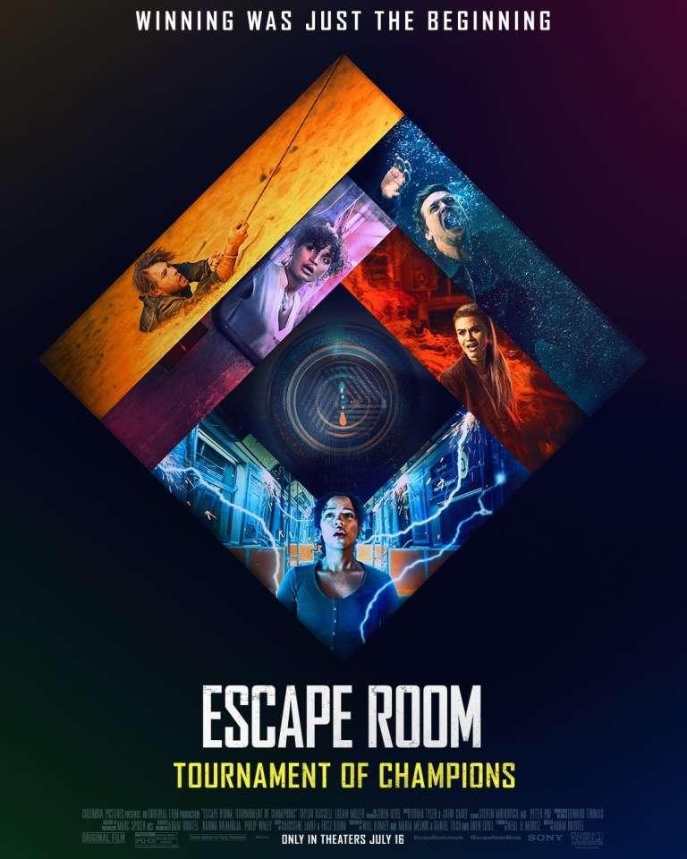Escape Room: Tournament of Champions kapak