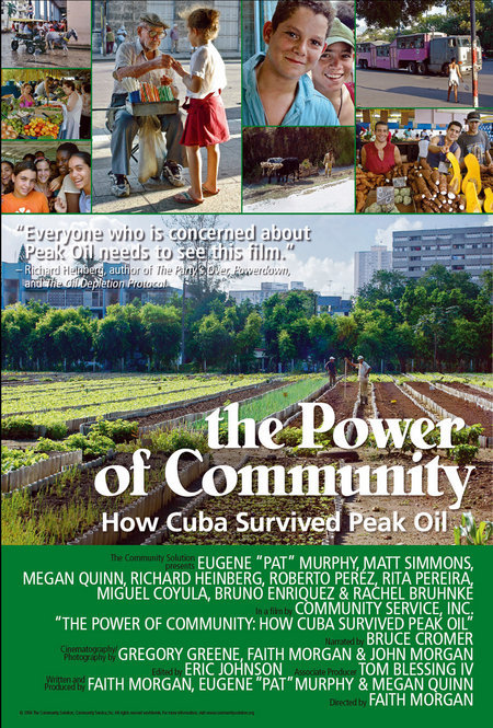 The Power of Community: How Cuba Survived Peak Oil kapak