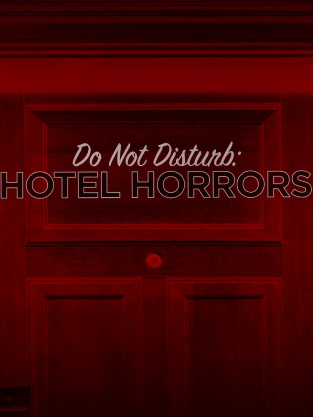 Do Not Disturb: Hotel Horrors kapak