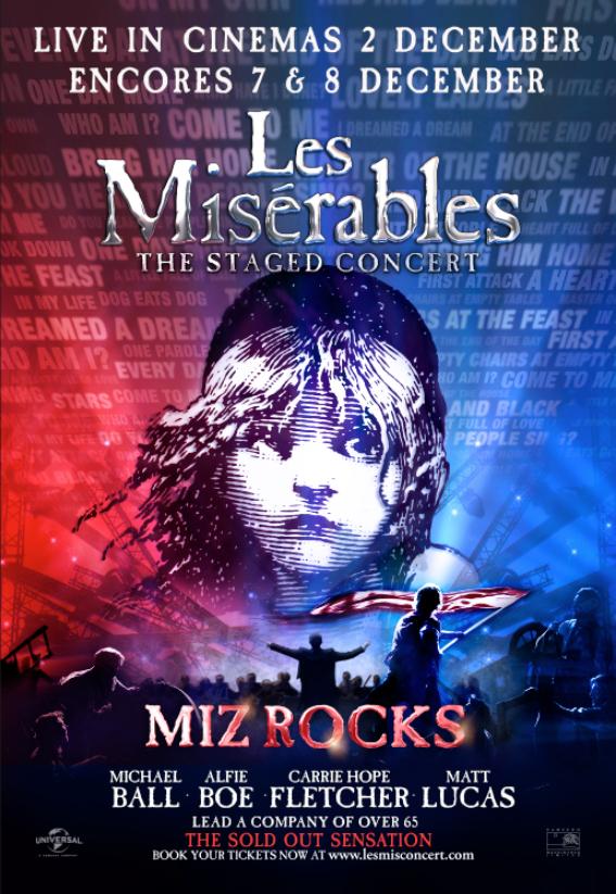 Les Misérables: The Staged Concert kapak