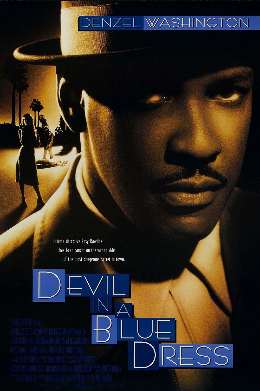 Devil in a Blue Dress kapak