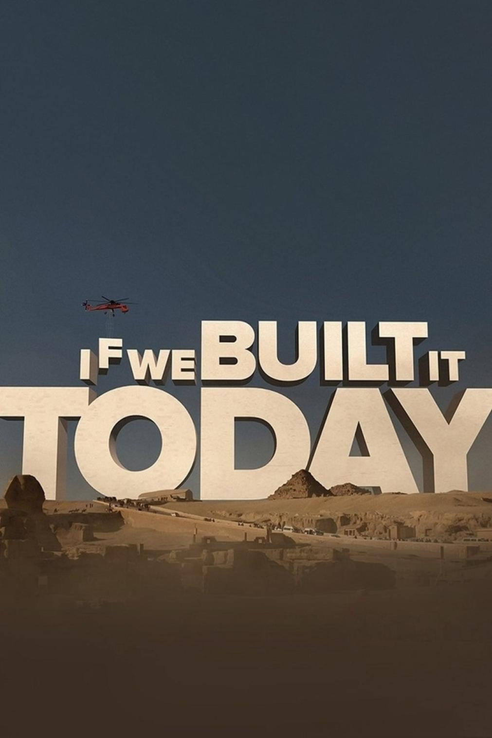 If We Built It Today kapak