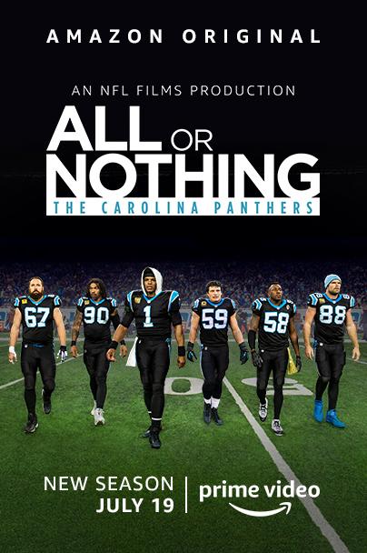 All or Nothing: Carolina Panthers kapak