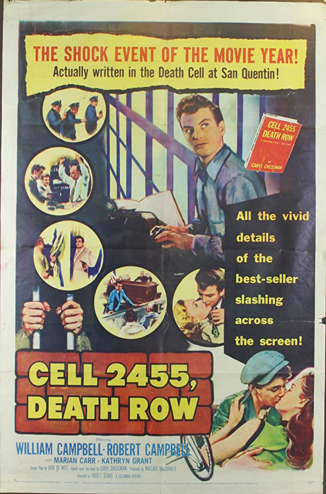 Cell 2455, Death Row kapak