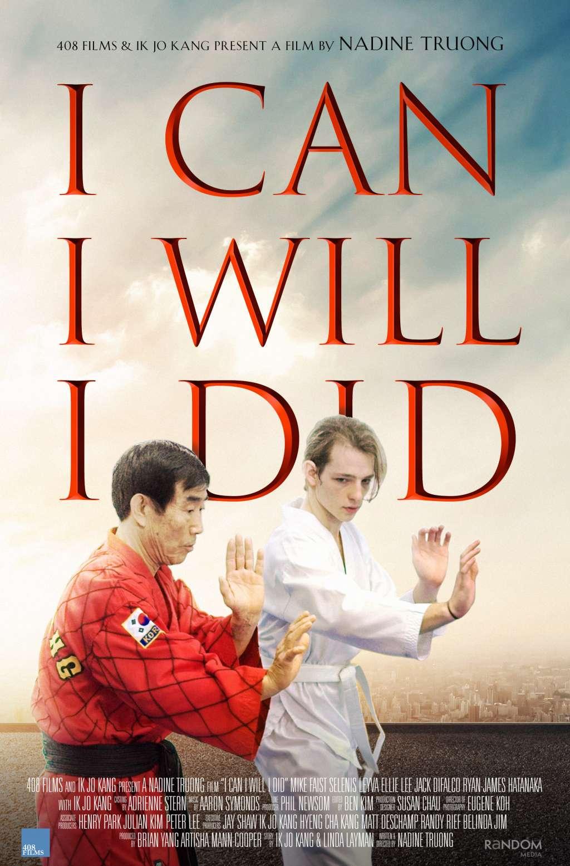 I Can I Will I Did kapak