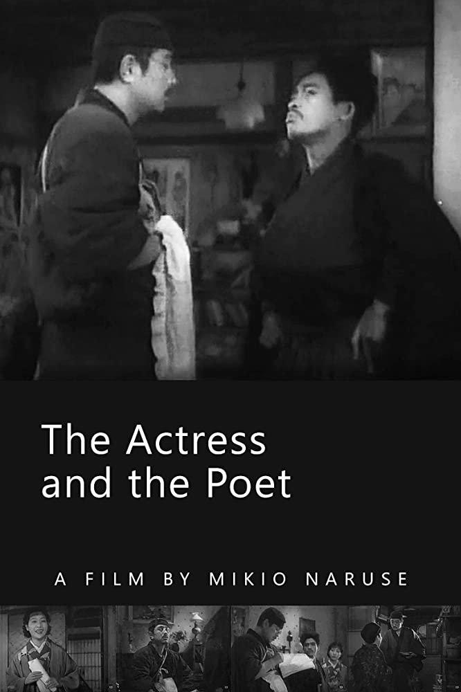 The Actress and the Poet kapak
