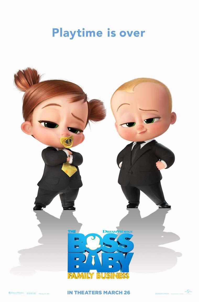 The Boss Baby: Family Business kapak