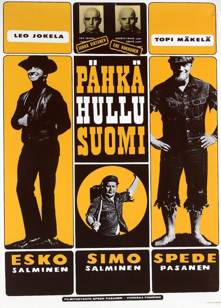 Pähkähullu Suomi kapak
