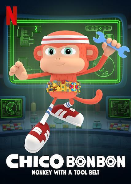Chico Bon Bon: Monkey with a Tool Belt kapak
