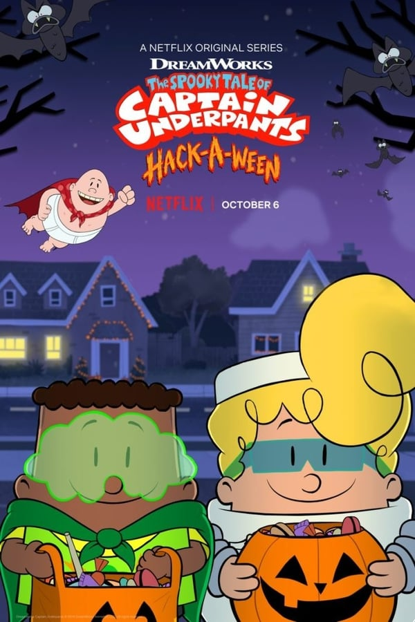 The Spooky Tale of Captain Underpants Hack-a-Ween kapak