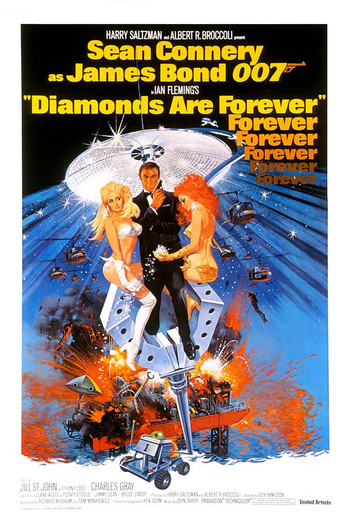 Diamonds Are Forever kapak