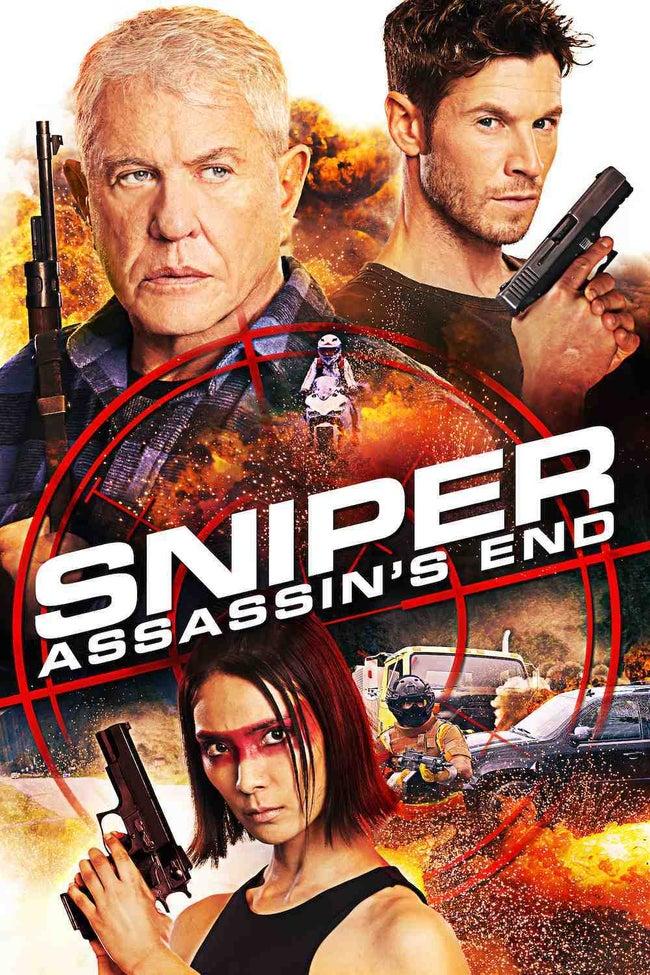 Sniper: Assassin's End kapak