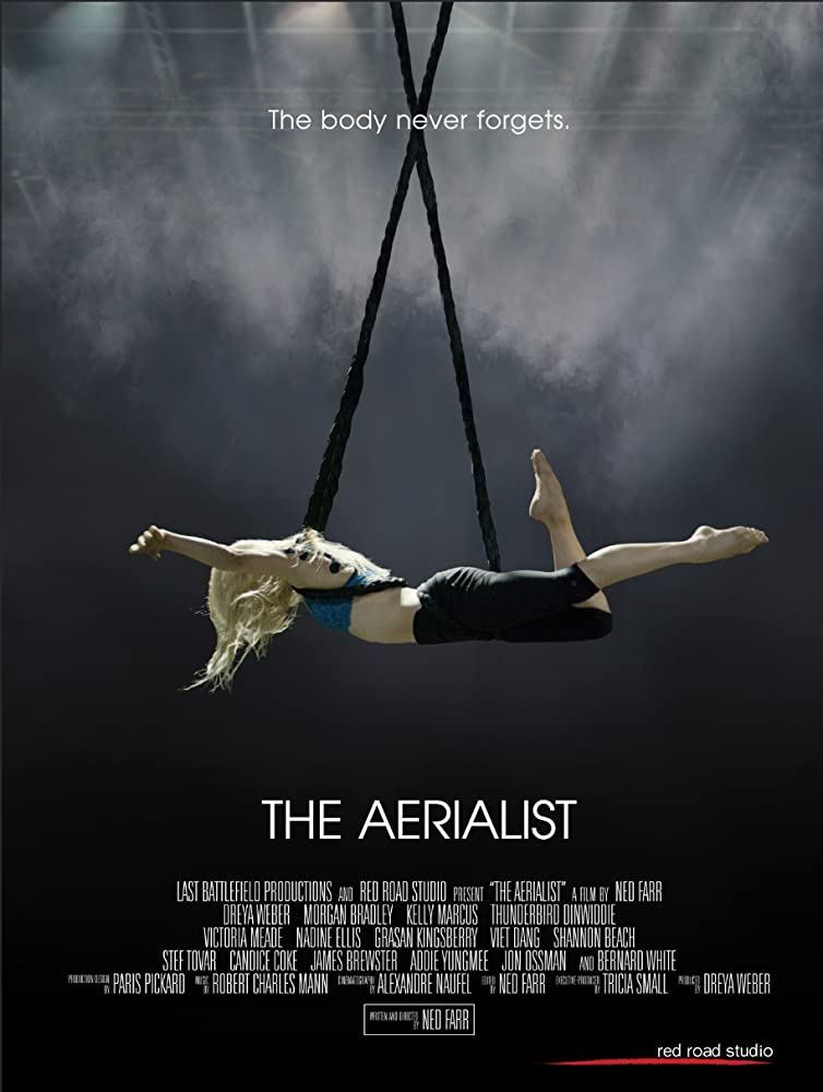 The Aerialist kapak