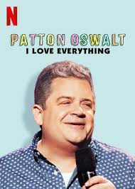 Patton Oswalt: I Love Everything kapak