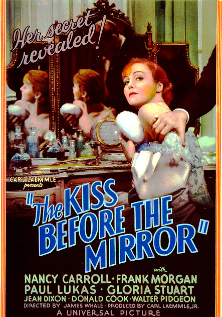 The Kiss Before the Mirror kapak