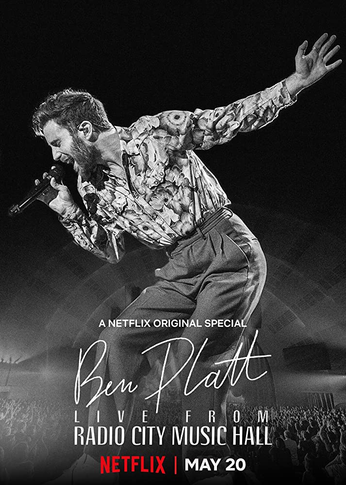 Ben Platt Live from Radio City Music Hall kapak