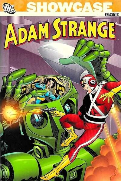 Adam Strange kapak
