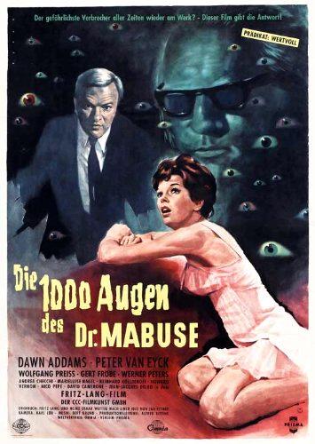 Die 1000 Augen des Dr. Mabuse kapak