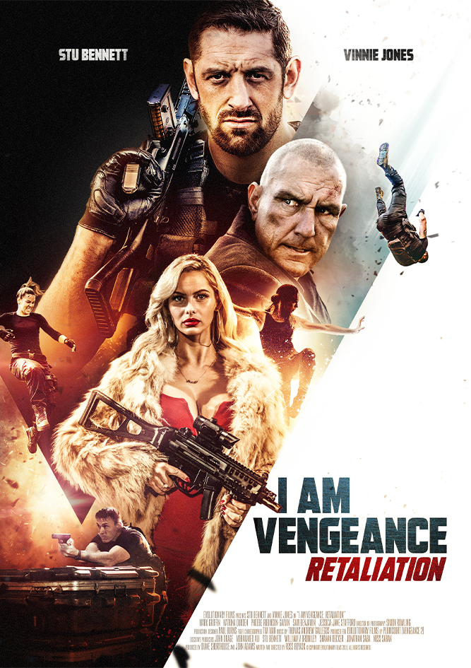 I Am Vengeance: Retaliation kapak