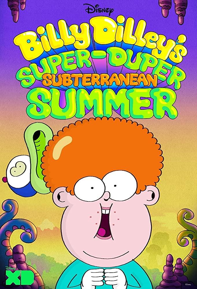 Billy Dilley's Super-Duper Subterranean Summer kapak