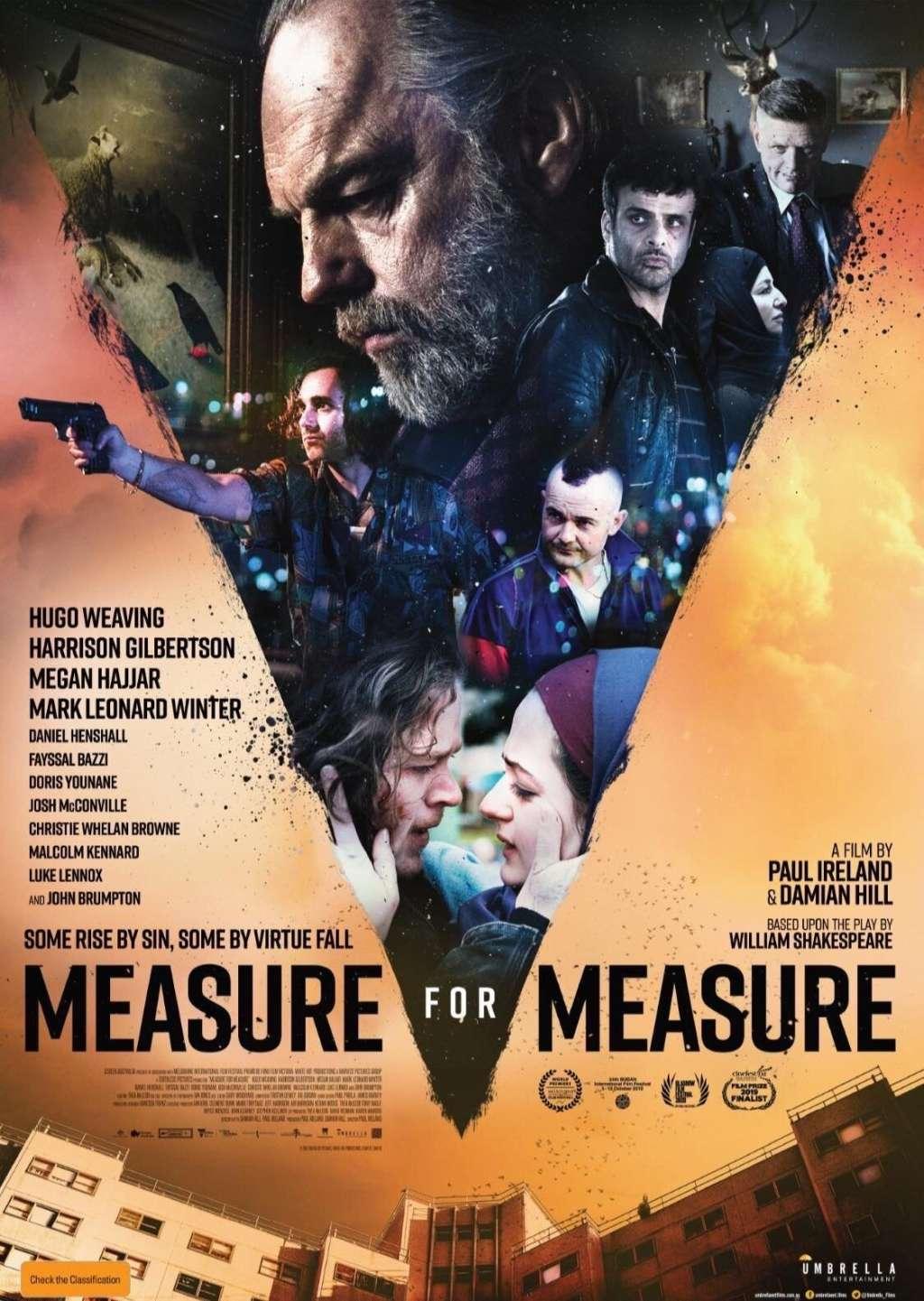 Measure for Measure kapak