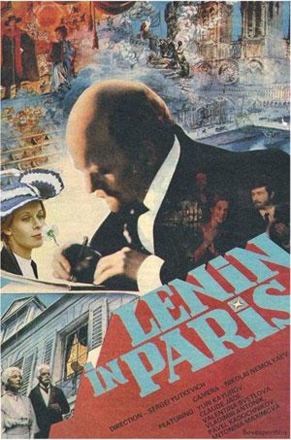 Lenin in Paris kapak